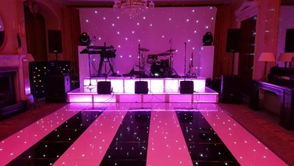 LED Starlit Dance Floor Hire