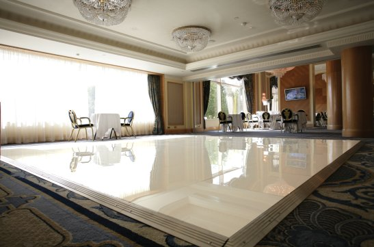 White Dance Flooring Hire in Surrey
